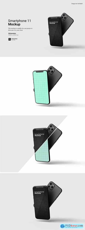Smartphone 11 Mockup