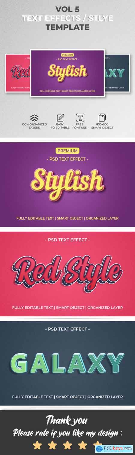 Text Effect Style Template Style Vol.5 29896142