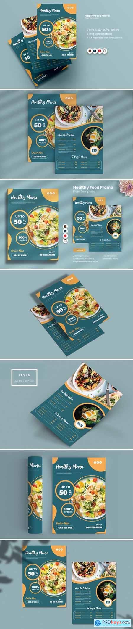 Healthy Food Promo Flyer