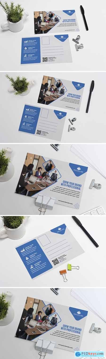 Corporate Branding Post Card Template