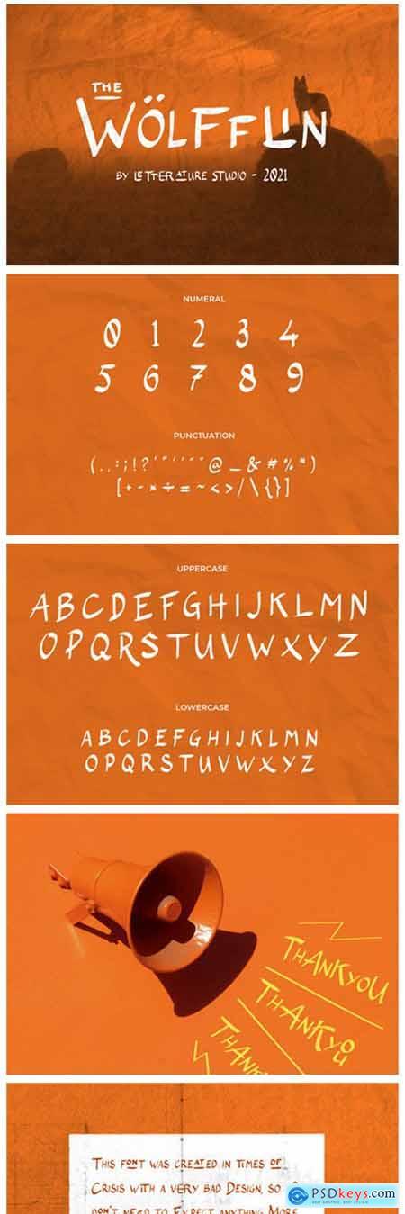 The Wolfflin Font
