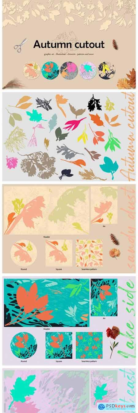 Autumn Cutout 8544395