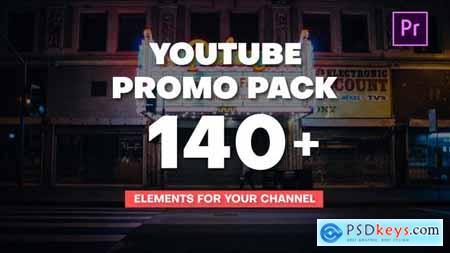 YouTube Promo Pack Mogrt 28530663