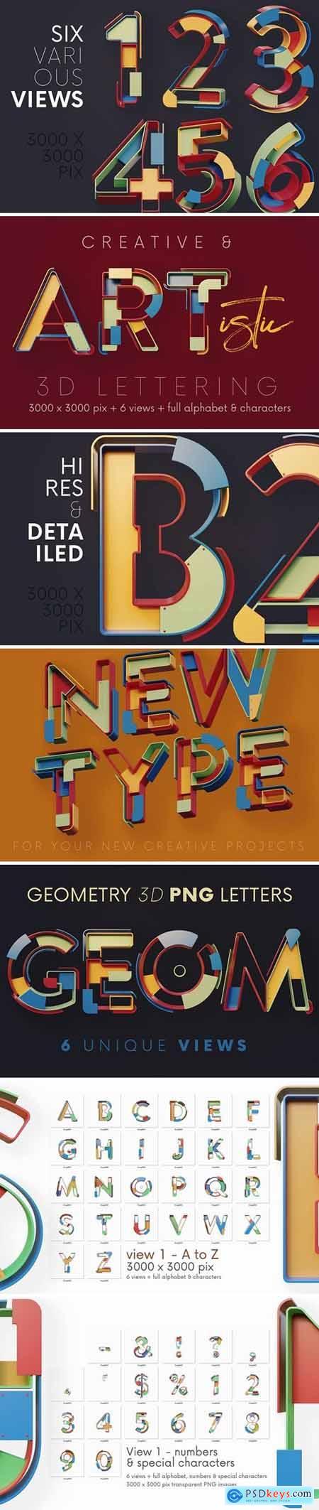 Geometry - 3D Lettering