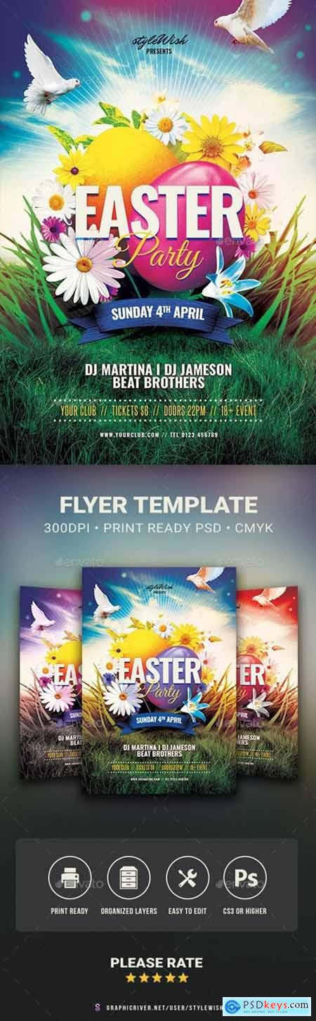 Easter Party Flyer 30335332