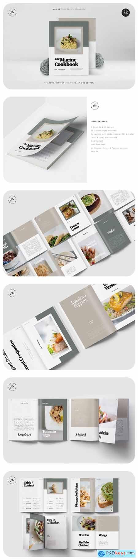 Marine Food Recipe Cookbook