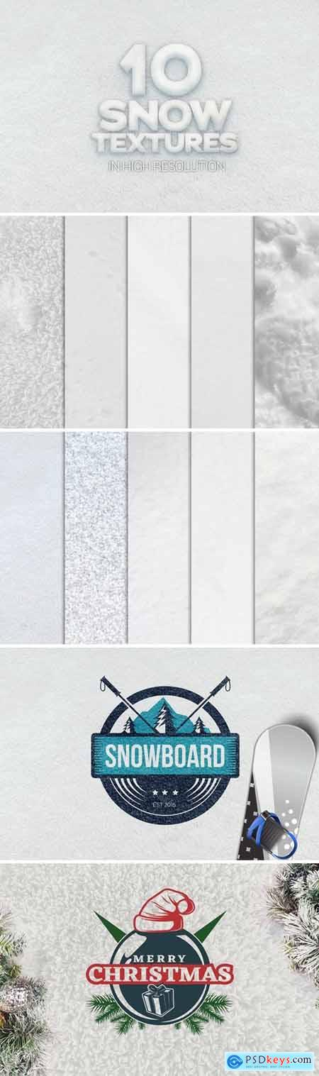 Snow Textures x10