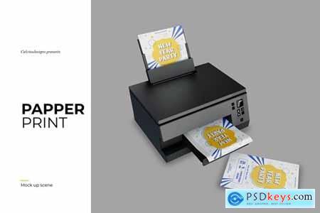 Print Papper Mockup