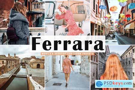 Ferrara Lightroom Presets Pack 5014442