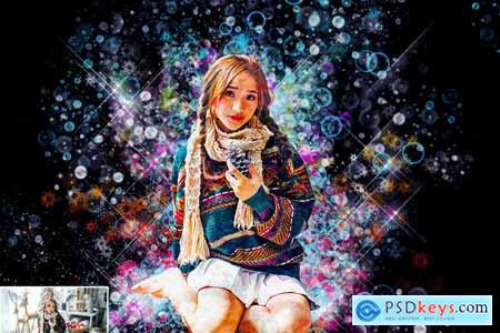 Festival Painting Photoshop Action 5710845