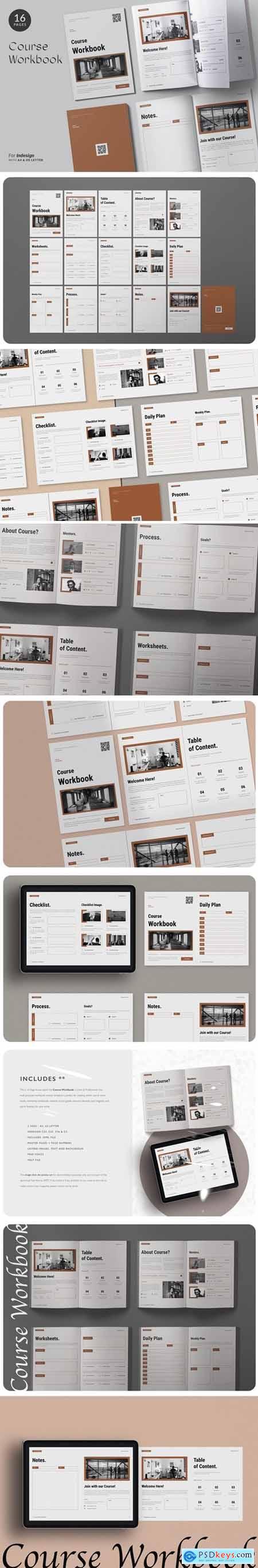The Course Workbook - Minimal 6MHALQW