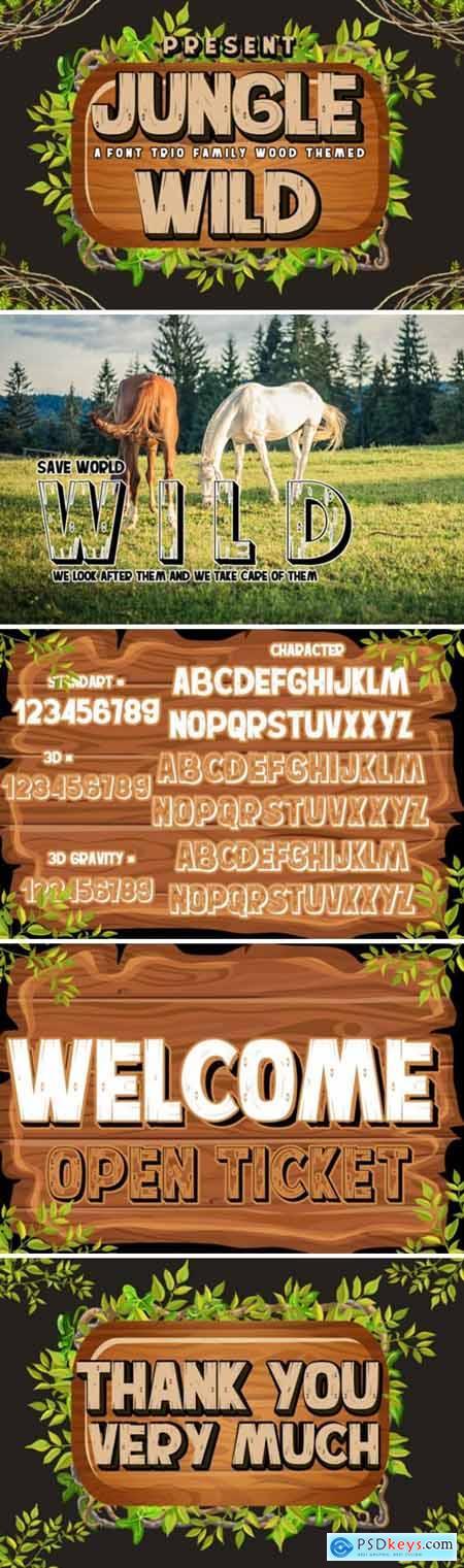Jungle Wild Font