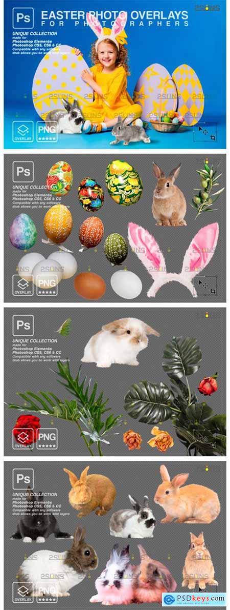 Photoshop Overlay Easter Bunny Overlay 8816797