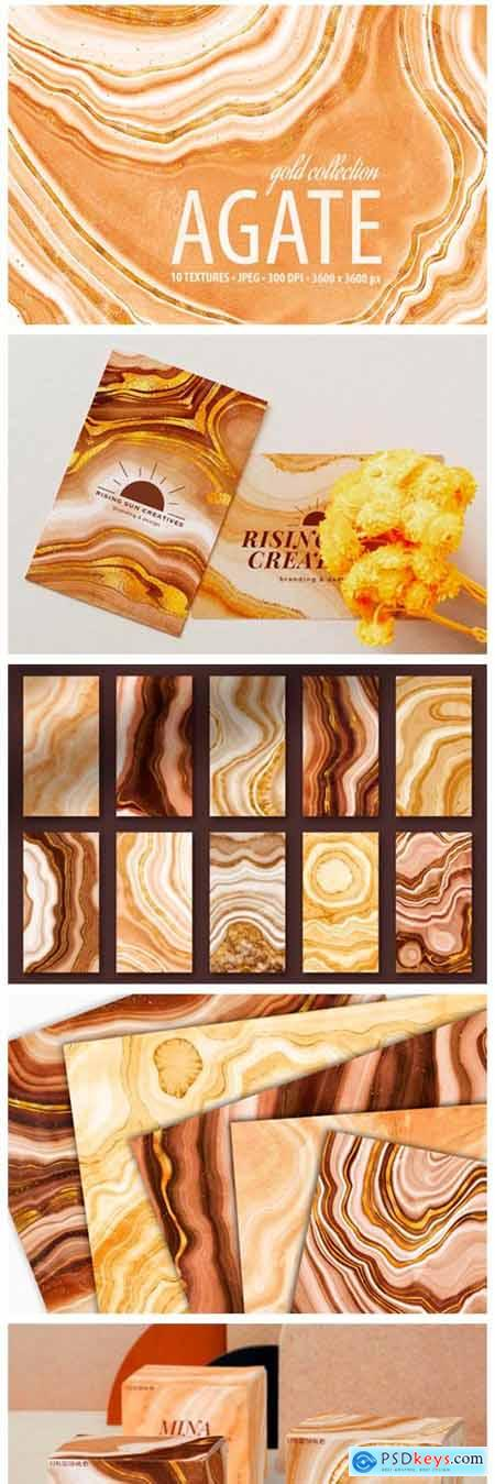 Golden Agate Stone Textures 8821246
