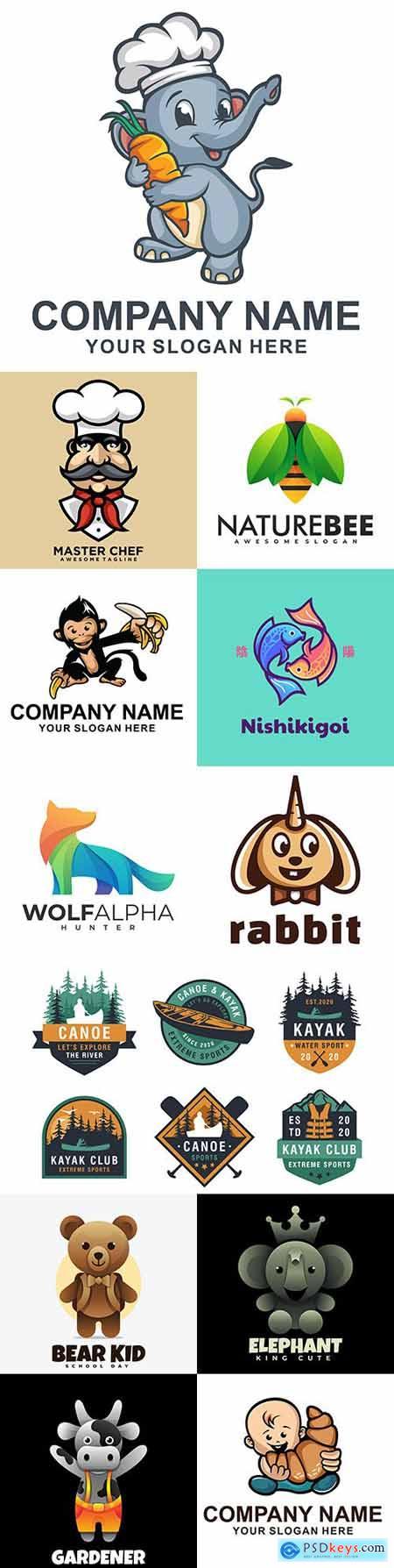 Brand name company business corporate logos design 16