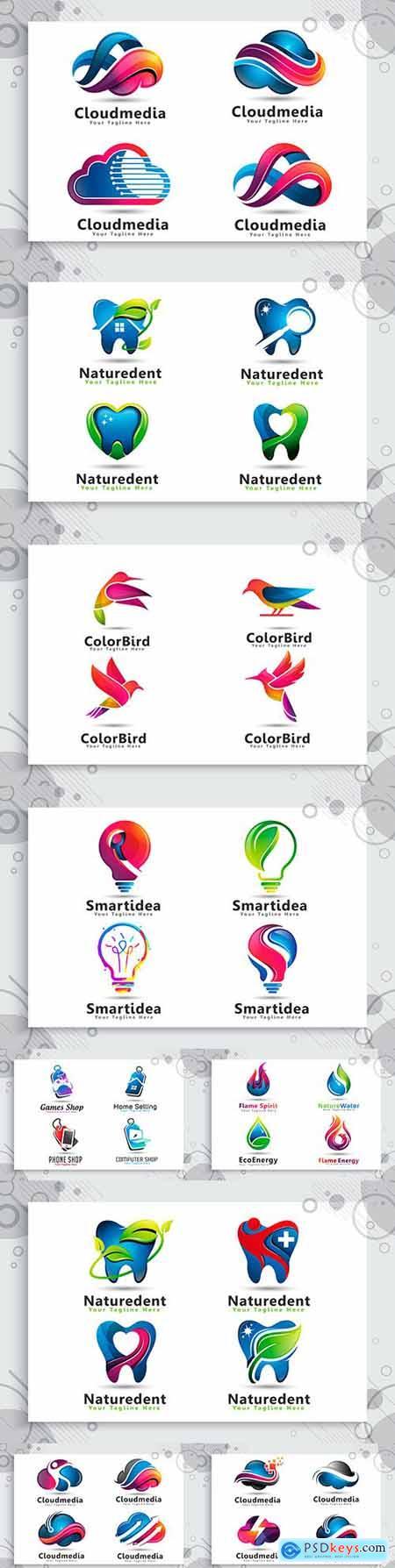 Brand name company business corporate logos design 15