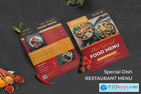 Special Dish Food Menu