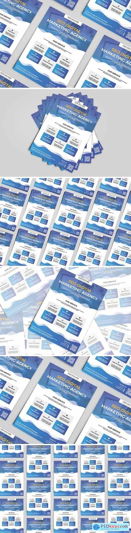Digital Marketing Seo Flyer Template
