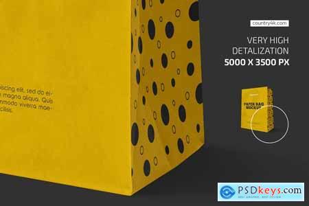 Kraft Paper Bag Mockup Set 5922310