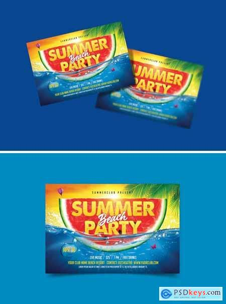 Summer Party - Beach Party Flyer