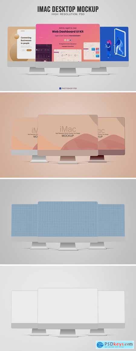 iMac Desktop Mockup