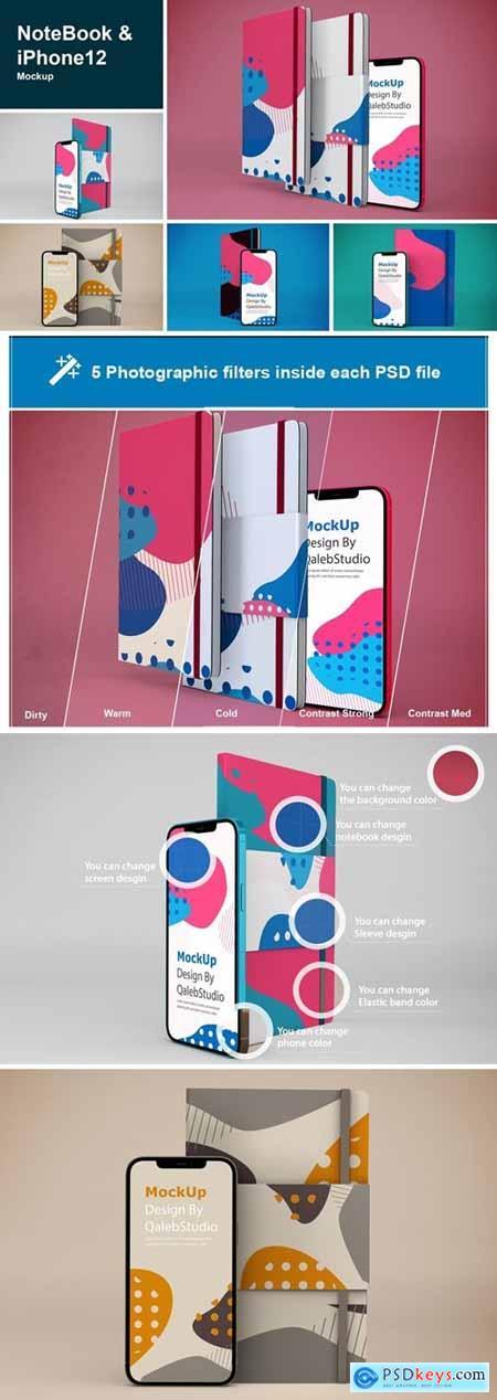 NoteBook & iPhone 12