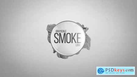 Grayscale Smoke Logo 19504187