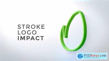 Stroke Logo Impact 21610372