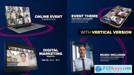 Online Event Promo - Device Mock-up 30446183