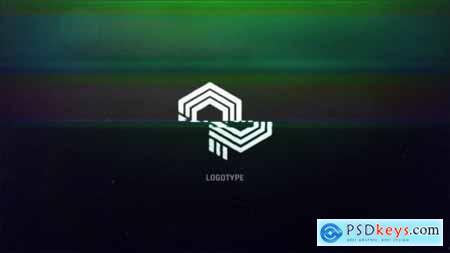 Glitch Logo Intro 19384167