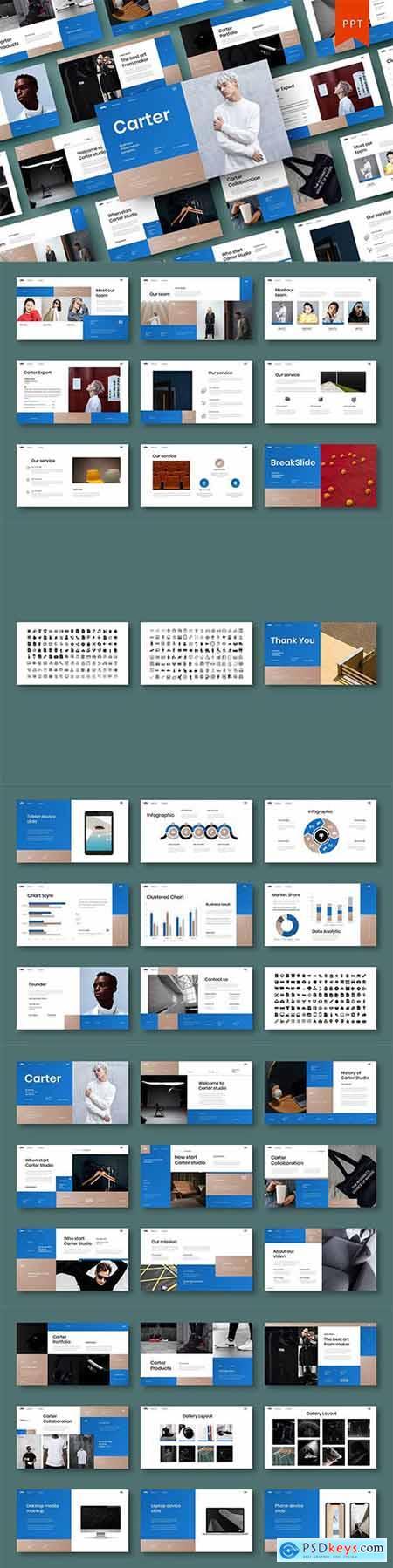 Carter – Business PowerPoint Template