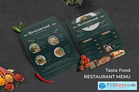 Restaurant Taste Food Menu
