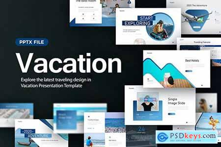 Vacation Travelling Presentation Template