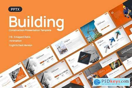 Building Construction Presentation Template