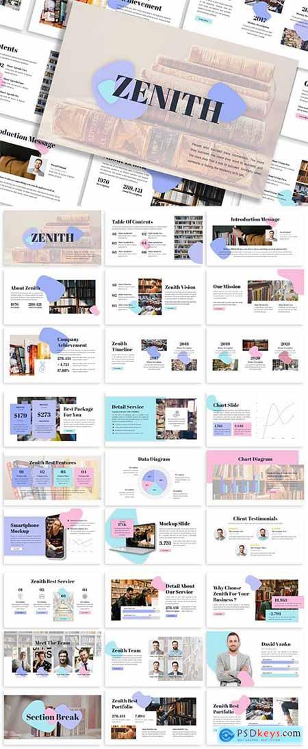 Zenith - Business Template Prensentation