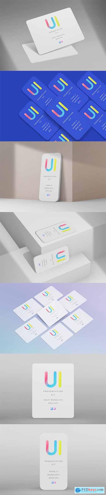 Imock Up Responsive Minimalistic Devices Kit Vol.1