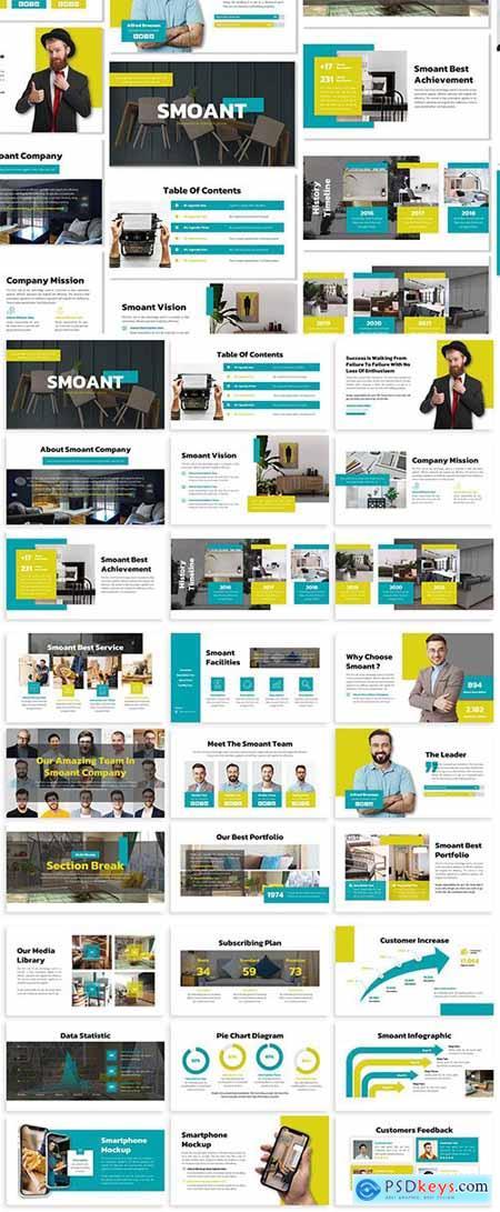 Smoant - Business Template Prensentation