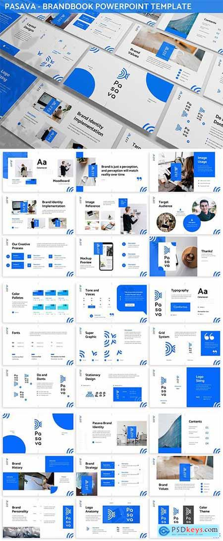 Pasava - Brandbook Powerpoint Template