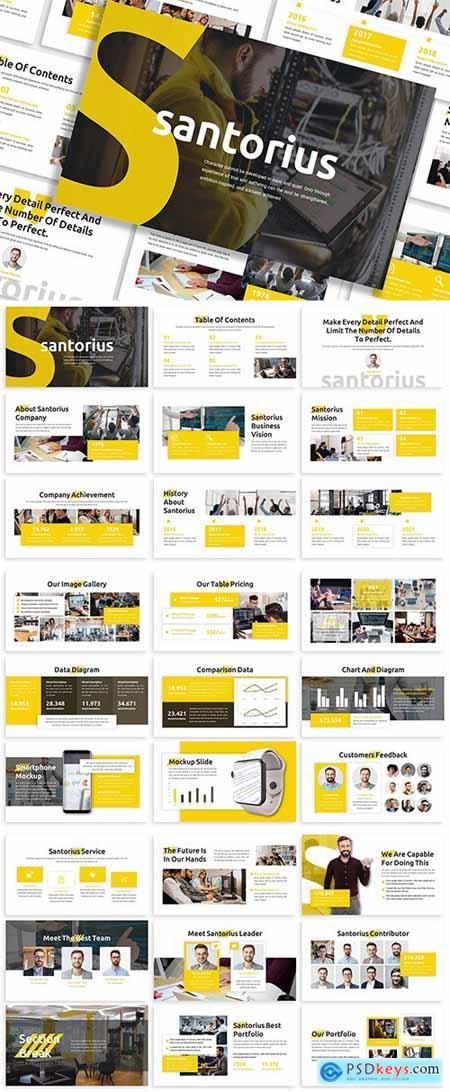 Santorius - Business Template Prensentation