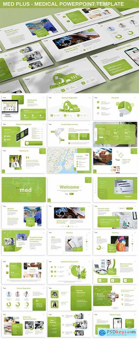 Med Plus - Medical Powerpoint Template