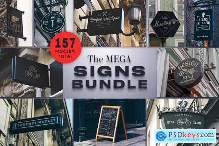The Mega Signs Bundle 3752319