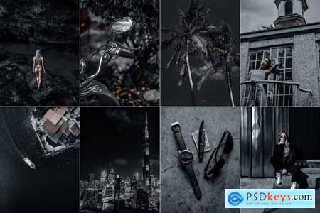 Black Lightroom Preset Collection 5832681