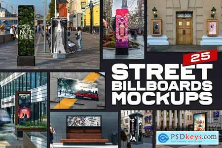 25 Street Billboards Mockups 5643188