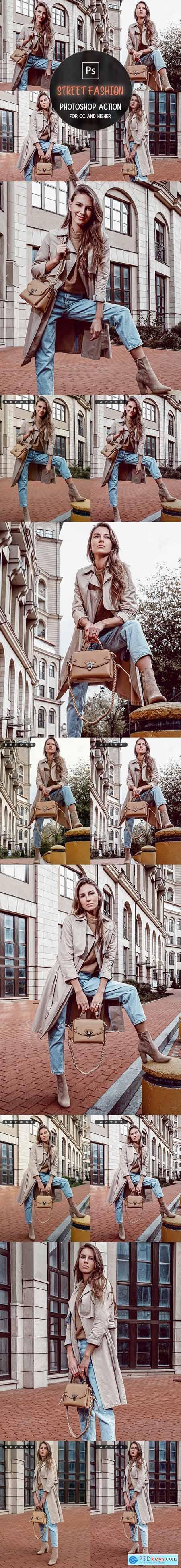 Street Fashion - Photoshop Action 29950944