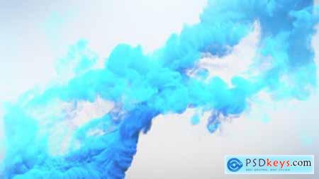 Smoke Logo Reveal 9208524