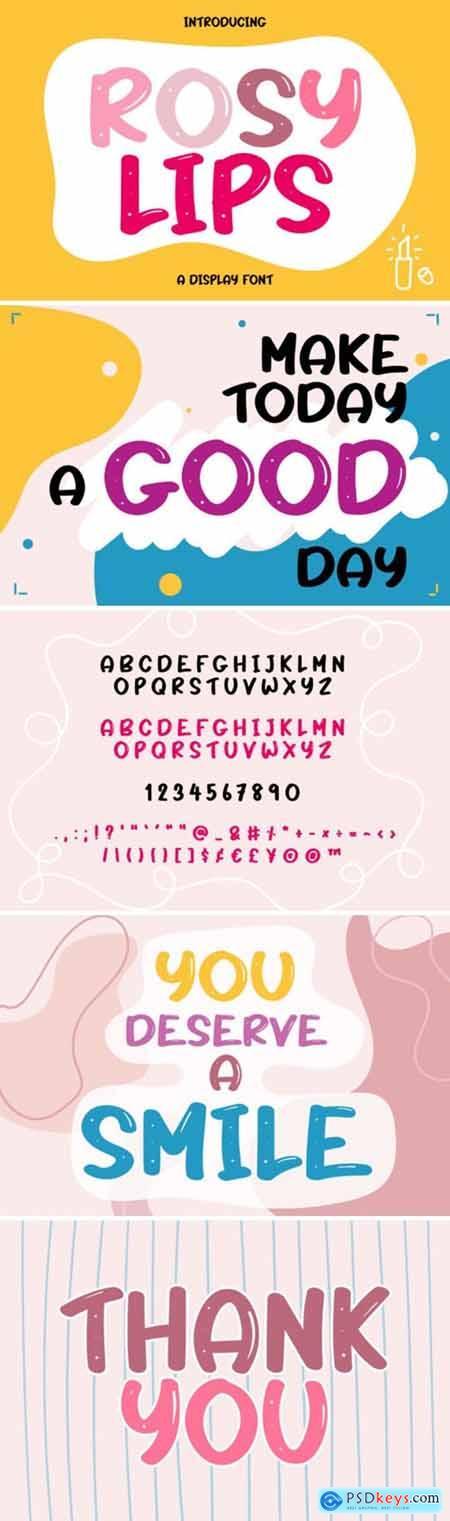 Rosy Lips Font