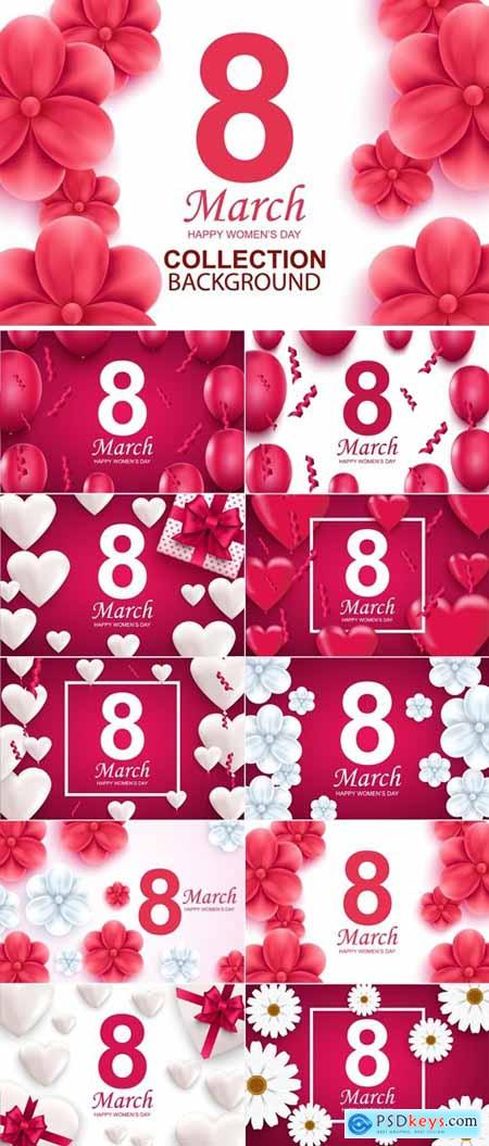 Collection Womens Day Web Banners Template