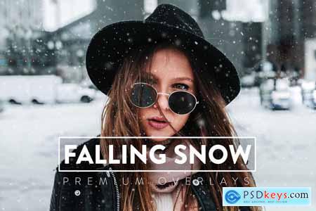 30 Realistic Snow Overlays 5930833