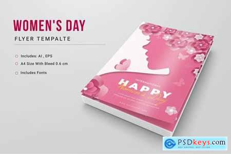 Womens Day Poster Template