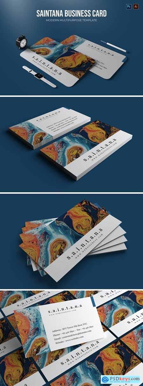 Saintana - Business Card